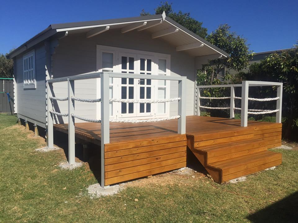 backyard cabin Sydney