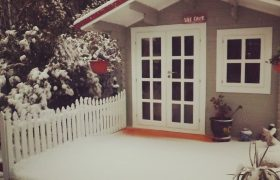 log cabin in Orange